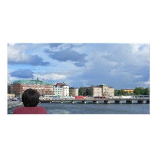"""Stockholm, Sweden 8""""x4"""" Photo Cards"""