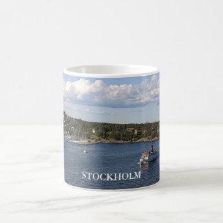 Stockholm Sweden Bay Coffee Mug