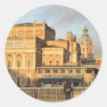 Stockholm, Sweden Classic Round Sticker