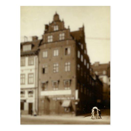 Stockholm Sweden in Miniature Postcard