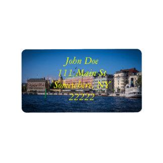 Stockholm Sweden Label