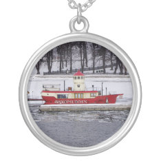 Stockholm Sweden Lightship Sterling Silver Jewelry at Zazzle