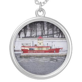 Stockholm Sweden Lightship Sterling Silver Jewelry