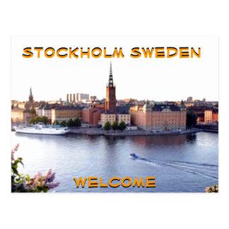 STOCKHOLM-SWEDEN (Mojisola una fotografía de Postal