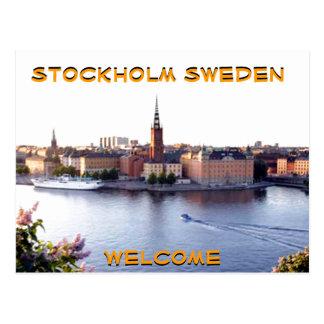 STOCKHOLM-SWEDEN (Mojisola una fotografía de Tarjeta Postal