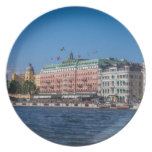 Stockholm Sweden Plate