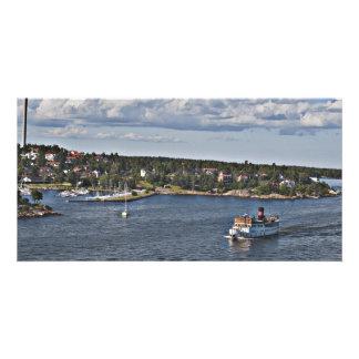 Stockholm Sweden Port Card