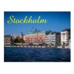 Stockholm Sweden Postcard