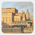 Stockholm, Sweden Square Sticker