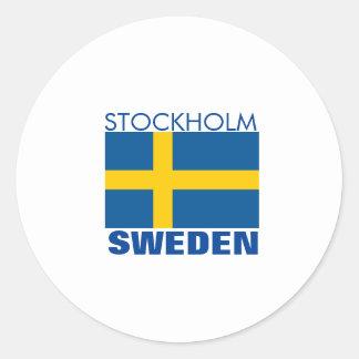 Stockholm, Sweden Sticker