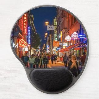 Stockholm Sweden Street Scene Gel Mouse Pads