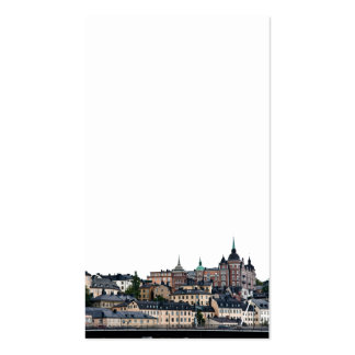 Stockholm view Double-Sided standard business cards (Pack of 100)