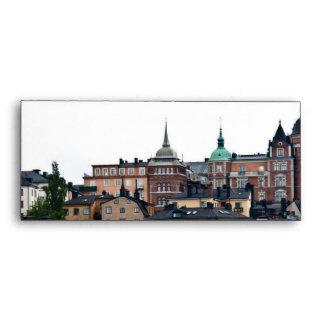 Stockholm view envelopes