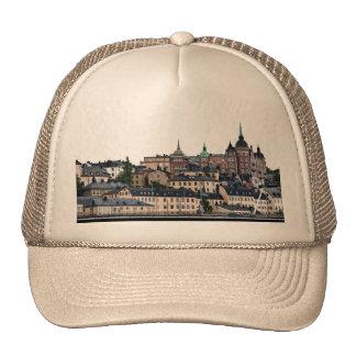 Stockholm view trucker hat