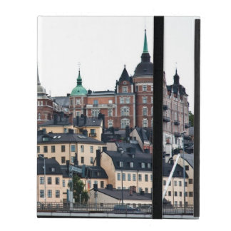 Stockholm view iPad cover