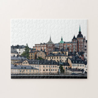 Stockholm view jigsaw puzzle