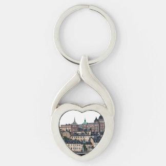 Stockholm view keychain