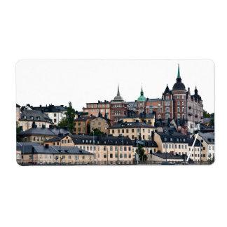 Stockholm view label