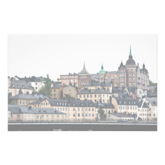 Stockholm view customized stationery