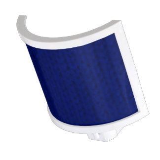 Stockinette azul lámpara de noche