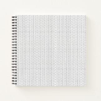 Stockinette Stitch Notebook