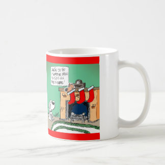 Stocking Dog Cartoon Christmas Mug