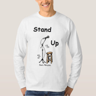 Stocking Station Stand Up T-shirt