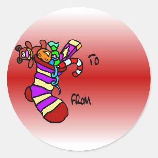 Stocking Sticker