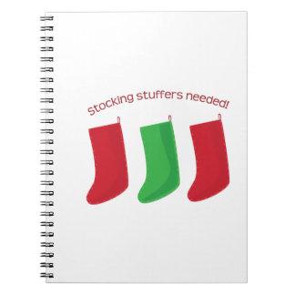 Stocking Stuffers Spiral Note Books