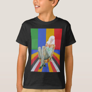 stockings and stilettos popart T-Shirt