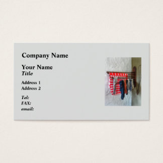 Stockings Hanging to Dry Business Card