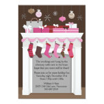 Stockings Hung 5x7 Paper Invitation Card