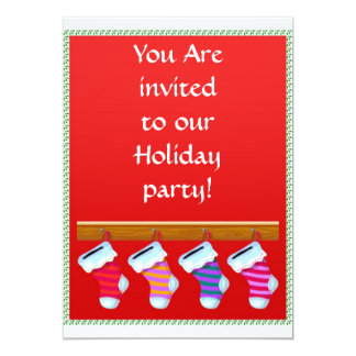Stockings Invitation