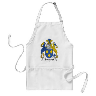 Stockport Family Crest Adult Apron
