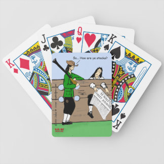 """""""Stocks"""" Bicycle Playing Cards"""