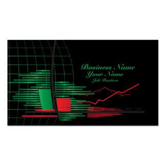 Stocks Broker Business Card