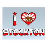Stockton, CA Postcard