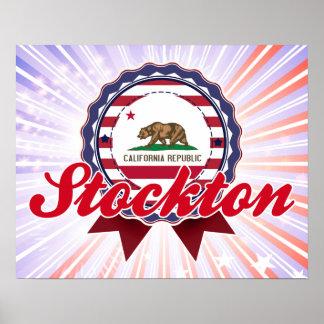 Stockton, CA Poster