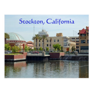 Stockton, California Postcard