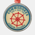 stockton commodores drum and bugle corps christmas tree ornament