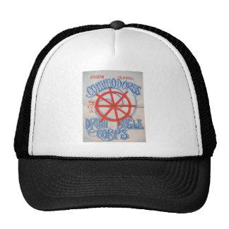 Stockton Commodores Drum and Bugle Corps Trucker Hat