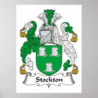 Stockton Family Crest Print