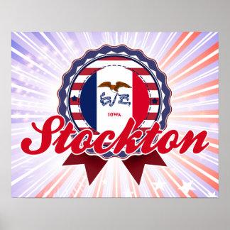Stockton, IA Poster