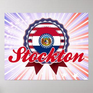 Stockton, MO Print