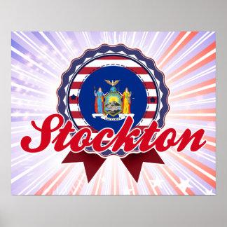 Stockton, NY Poster