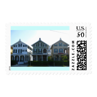 Stockton Victorian Row in Cape May Postage