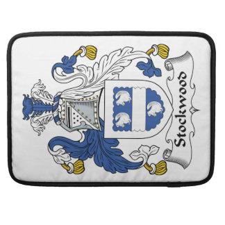 Stockwood Family Crest MacBook Pro Sleeves