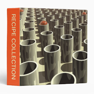 Stockyard of Cylinders 3 Ring Binder