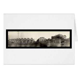 Stockyards Atlanta GA Photo 1909 Card