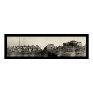 Stockyards Atlanta GA Photo 1909 Poster
